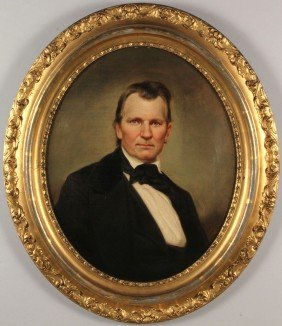 Portrait Of CSA Gen. Daniel Smith Donelson By Dury