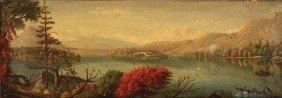 Tennessee Fall Landscape, Attrib. J. Cameron