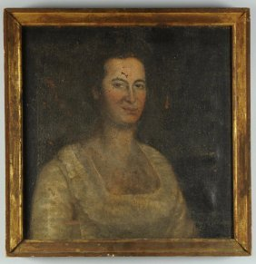 Portrait Of A Lady, Manner Of Henry Benbridge