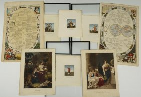 Group Of 18th & 19th C. French & English Prints