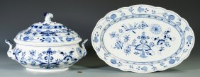 Meissen Porcelain Tureen And 1 Other