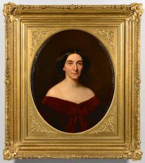 W. Volkhart Portrait Of A Lady