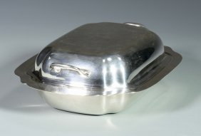 Sterling Silver Covered Server By Ellmore