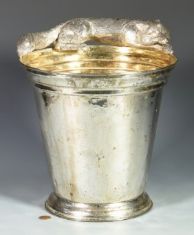 Franco Lapini Champagne Bucket W/ Fox