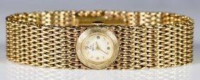 14K Bracelet Watch, Saks