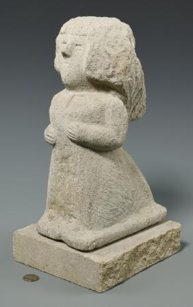 William Edmondson Sculpture, Nursing Supervisor