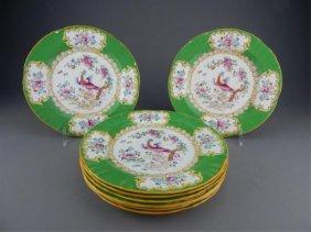 Set Of 8 Minton Porcelain Plates
