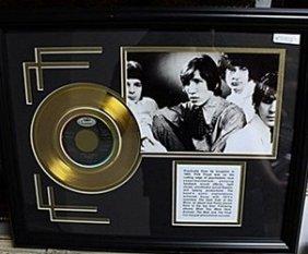 Black &white Pink Floyd Giclee & Gold Album Ar5702