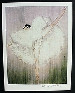 "Lithograph ""ballet Dance Girl"" After Louis Icart"