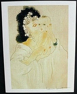 "Lithograph ""baafter Soft Skin"" After Louis Icart"
