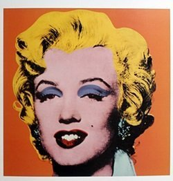 Print Orange Shot Marilyn - Andy Warhol