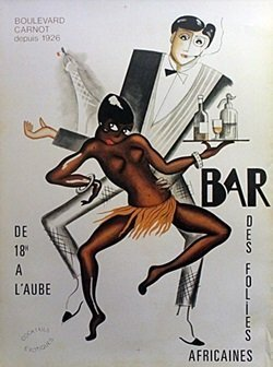 Poster - Bar Des Folies - Josephine Baker