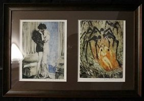Lithographs 2-in-1 By Louis Icart