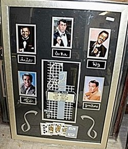 The Rat Pack Signed Giclee Ar5726