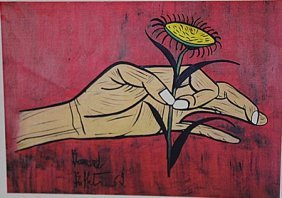 Bernard Buffet - Flower