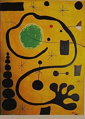 Joan Miro - Child With Dogs