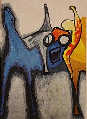 Marino Marini - The Blue Horse