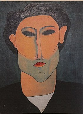 Amedeo Modigliani - Portrait Of Andre