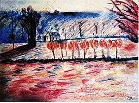 Camille Pissarro - Bath Road, Chiswick