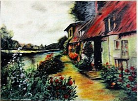 Camille Pissarro - The Red Roof