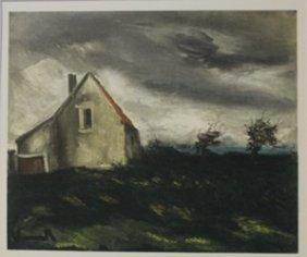 The House On The Plain 1949 - Ltihograph - Maurice De
