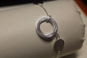 Elegant T & Co. Chic Silver Bracelet