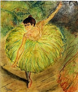 The Dancer 1910' - Edgar Degas