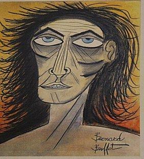 Bernard Buffet - Self-portrait