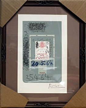 Hand Signed Lithograph - Pablo Picasso