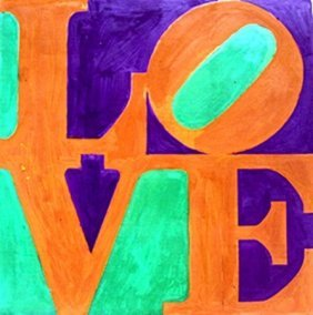 Love No. 9 - Robert Indiana