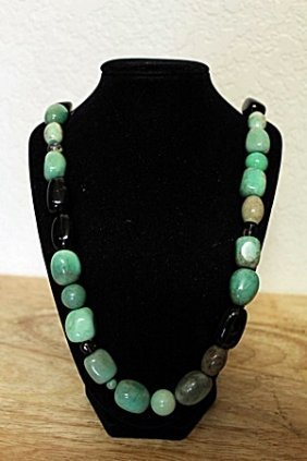 Jade/ Black Jade/ Green Jade/ Amber Jade Necklace