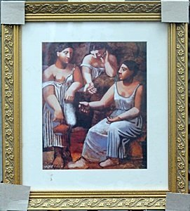 """three Woman At The Spring"" By Pablo Picasso"