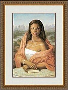 Manhattan Mona Lisa By Ashkar