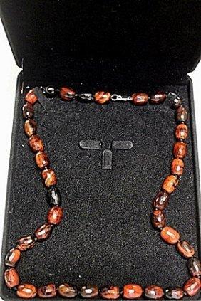 Agates And Quartz Necklace