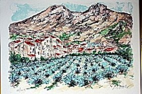 """ridged Cliffs"" By Michael Schofield"