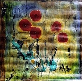 Giclee On Canvas By Baet