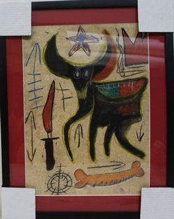Oil And Pastel On Paper - Jean Michele Basquiat