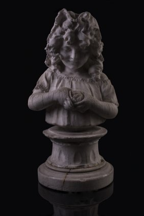 Statue Of A Young Girl