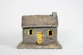 Log Cabin - Chimney Right Still Bank