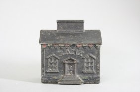 House With Chimney Slot Still Bank
