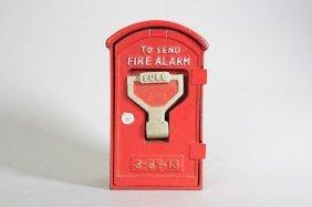 Fire Alarm Bank Still Bank