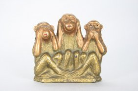 Three Wise Monkeys Still Bank