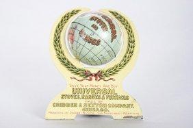 Universal Globe In Arc Still Bank