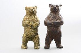 Mean Bear / Bear On Hind Legs Still Bank