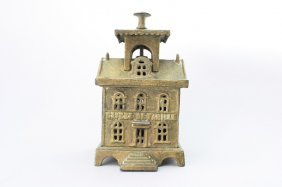 Caisse De Famille With Open Cupola Architectural Bank