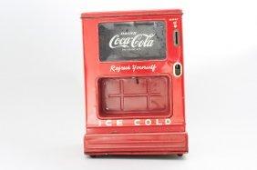 Coca-cola Dispensing Bank Mechanical Bank