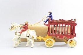 Overland Circus Cage Wagon