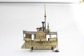 """star"" Riverboat American - Circa 1885"