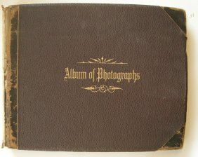 Grand Tour Photo Album C1890