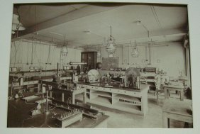 Albumen Photograph Of The Physics Laboratory In The